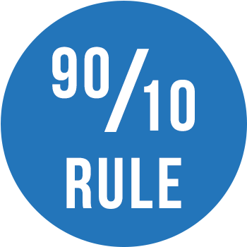 The 90/10 Rule